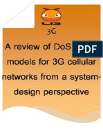 AReviewofDoSattackModelsfor3GCellularNetworks