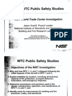 NY B14 WTC Building Performance Fdr- NIST Briefing Slides- WTC Public Safety Studies 534