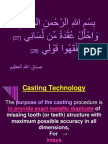 Casting Technology Uploaded by MIUDENTIST