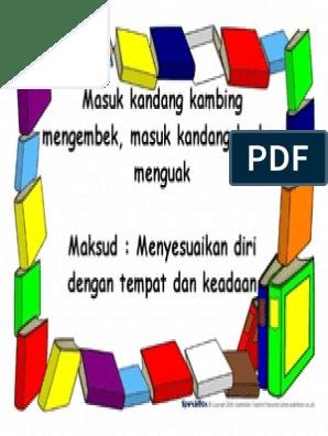 Peribahasa Buku 6