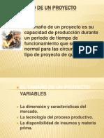 DIAPO EL TAMAÑO DE UN PROYECTO