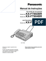 Manual de Inst. Fax Panasonic