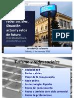 Jornadeas UOC Redes Sociales Turismo