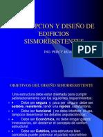 CONCEPCION Y DISEÑO DE EDIFICIOS SISMORESISTENTES