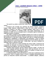 Peter Deunov Profetii Despre Viitor