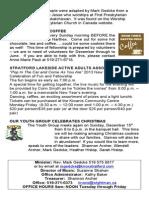 Knox Church December 8 Bulletin