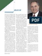 IE Magazine -The Next Industrial Revolution