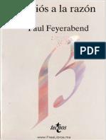 Adios a La Razon - Paul Feyerabend