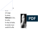 El Nuevo Nacimiento Pablo Neruda Oda a Las Cosas