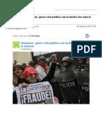 Gmail - [Nuovo Articolo] Honduras_ Grave Crisi Politica Con La Destra Che Ruba Le Elezioni