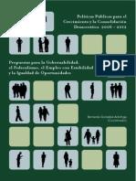 Politicas Publicas 2006-2012