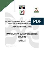 Manual Para El Entrenador de Ciclismo Nivel2