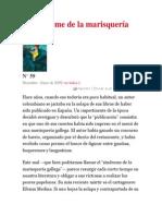 El síndrome de la marisquería gallega