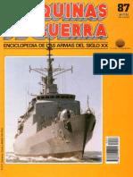 Maquinas de Guerra 087 - Fragatas modernas (2ª parte)