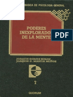 Gomez Buron Y Martin Muñoz - Poderes Inexplorados De La Mente