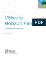 VMware View Pricing Licensing and Upgrading White Paper