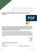 Bíblia Amplificada Epístola de Tiago - Completa