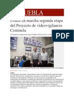 04-12-2013 Milenio.com - Ponen en Marcha Segunda Etapa Del Proyecto de Videovigilancia Centinela