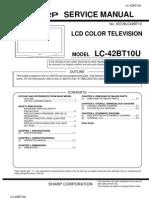 Tv Lcd Sharp LC42BT10U