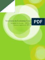 Relatório economia criativa brasil