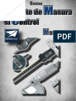 Aparate de masura si control dimensional PDF