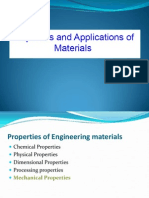 properties and applications of materials