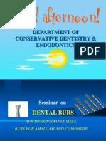 Dental Burs