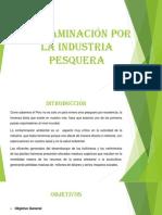 diapositiva CONTAMINACIÓN POR LA INDUSTRIA PESQUERA