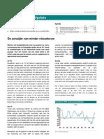 Global Markets Update de Zonzijde Van Minder Nieuwbouw
