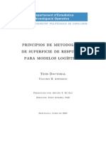 Metodo Clasico Superficie de Respuesta