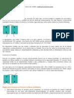 formas de conectar un banco de celdas o baterías de plomo