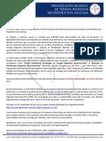 Carta Informativa TRR Nivel I
