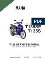Combination of Spoket Yamaha LC 135