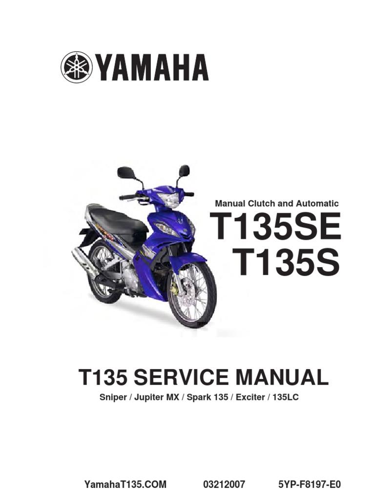 Yamaha 135LC Manual Book   Propulsion   Engines