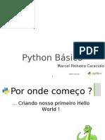 Aula 3 Python Basic o