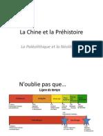 la chine et la prehistoire