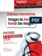Programme Colloque 2009
