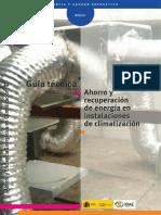 Climatizacion RecuperacionENERGIA