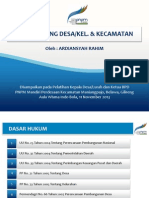 Presentasi Musrenbang Desa-kel. & Kecamatan Fix