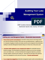 Wayne Dearness Auditing Your Lube Mgt System