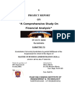 Financial Analysis(HDFC BANK)