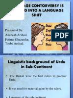Lang Policy- Presentation