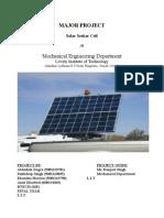 Solar Seeker (Major Project)