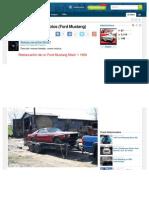 Http Www Taringa Net Posts Autos Motos 1343078 de Feo a Chulo en 70 Fotos Ford Mustang HTML
