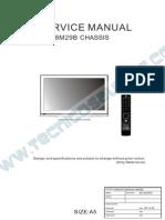 9619 Noblex 32LC837HT Chassis 8M29B Televisor LCD Manual de Servicio