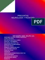 Preguntas Mir Neuro y Pediatria