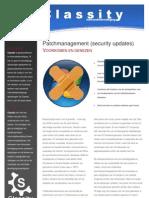 Security Updates Patch Management Folder Classity