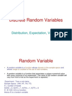 Discrete Random Variables-Part I