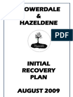 Flowerdale Community Recovery Plan Final