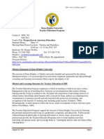 edu 301 syllabus fall 2013